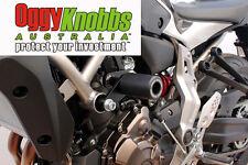OK834 YAMAHA MT-07 2014-18 OGGY KNOBBS NO CUT KIT (Black Knobbs) Frame Sliders