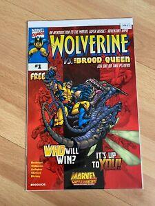 Wolverine Vs. The Blood Queen 1 - high Grade Comic Book - B54-57