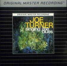 CD JOE TURNER - singing the blues, MFSL Argent