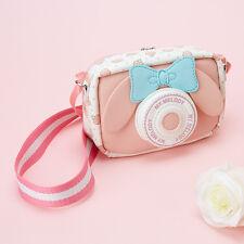 My Melody camera-shaped pouch Sanrio Kawaii Cute F/S NEW RARE item Gift