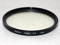 72mm Osawa UV Filter Excellent + + +   #72819st.
