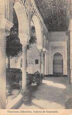 B93464 galeria de generalife   granada alhambra  spain