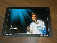LIVRET PHOTOS book photo FRANK MICHAEL album n°1 LIVE