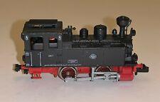 Fleischmann Piccolo (7000) N Gauge 0-4-0T 'Maffei' 7 in German DB Black and Red
