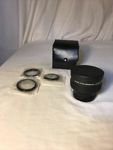 x0.6 WIDE CONVERSION Lens Japan