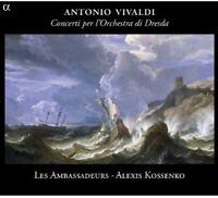 Alexis Kossenko, A. Vivaldi - Concertos de Dresde [New CD]