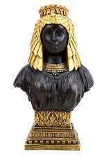 Ägypten Antike - Prächtige Kleopatra Büste - Bronze Statue - signiert Milo