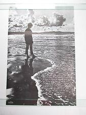 Vintage 1971 NO MAN IS AN ISLAND John Donne Poem Poster Charles Henschel NOS