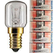 5 Piece Philips Oven Lamp T25 E14 25Watt 300°C 25W Oven CL Ov Appliance
