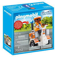 Playmobil City Life Rescue Balance Racer Building Set 70052 NEW IN STOCK