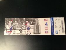 2009 MONTREAL CANADIENS Full Ticket 1993 VINCENT DAMPHOUSSE MATHIEU SCHNEIDER