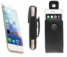Verizon iPhone 6 Leather Case Pouch Cover Holster With Swivel Rotating Belt Clip