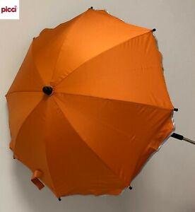 OMBRELLINO parasole universale passeggino col ARANCIO OS111242 PICCI -new-Italia