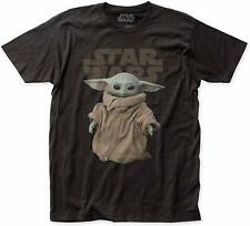 Star Wars Mandalorian The Child T-Shirt Baby Yoda Officially Licensed Adult L