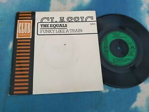 "The Equals – Funky Like A Train Club – JAB 58 UK Vinyl 7"" Soul Funk"