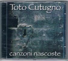TOTO CUTUGNO  CANZONI NASCOSTE CD F.C TIMBRO A SECCO SIGILLATO!!!