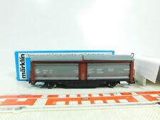 BS717-0,5# Märklin H0/AC 4730 Schiebewandwagen mit Schiebedach SNCB NEUW; OVP