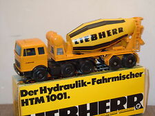 Mercedes Cement Mixer Liebherr van Gescha Model 3050 Germany 1:50 in Box *18932