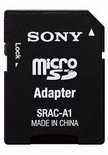 SONY SRAC-A1 MICRO SD CARD  MicroSDXC microSD microSDHC ADAPTER