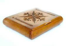 ANTIQUE CARVED BAMBOO CIGARETTE CASE