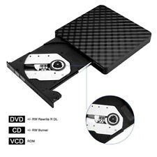 Slim Portable USB 3.0 Ultra External DVD-RW CD-RW Burner Writer Drive For PC MAC