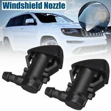 2Pcs Windshied Wiper Washer Spray Nozzles For Jeep Grand Cherokee 2011-2018