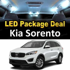 7x White LED Lights Interior Package Deal For 2014 2015 2016 2017 Kia Sorento