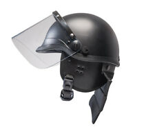 Riot Safety Helmet with Visor and nackenprotektoren Helmet Size Adjustable