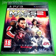 MASS EFFECT 2 NUEVO PRECINTADO PAL ESPAÑA PLAYSTATION 3 PS3