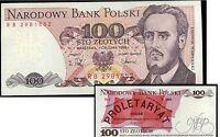 POLOGNE  100 zlotych    1988  NEUF