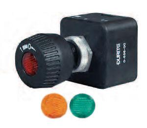 Rotary switch 12v illuminated Auto Marine,splashproof 15amp Durite 0-656-00 SWH2