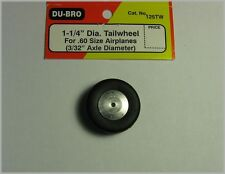 """Du-Bro 125TW 1-1/4"""" Dia Tailwheel for .60 Size Airplane"""