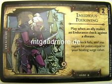 D&D Fortune Cards - 1x Insidious Poisoning  #069