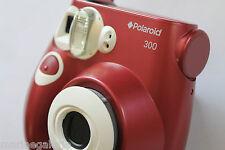 Polaroid appareil photo mini rouge neuf +3 films 300 périmés testés stock France