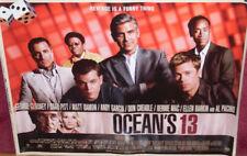 Cinema Poster: OCEAN'S 13 2007 (Main Quad) George Clooney Brad Pitt