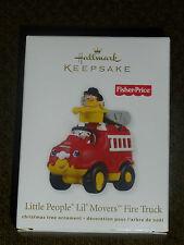 Hallmark 2011 Ornament - Little People Lil' Movers Fire Truck