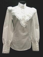 Frontier Classsics Blouse White cotton Clara Victorian Style Frontier S-3Xl
