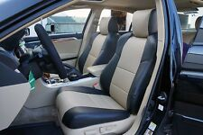 ACURA TL 2004-2008 IGGEE S.LEATHER CUSTOM FIT SEAT COVER 13 COLORS