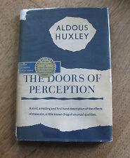THE DOORS OF PERCEPTION - Aldous Huxley -1st  HCDJ -1954 -$2.50