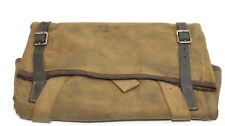 WWII British Tan Khaki cotton Bren gun tool pouch w strap used each E9149