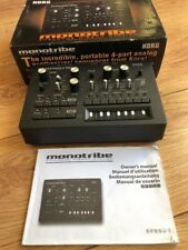 KORG monotribe SYNTHESIZER/sequencer BOX+instructions SUPERB EXAMPLE