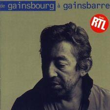 Serge Gainsbourg De Gainsbourg à gainsbarre (42 tracks) [2 CD]