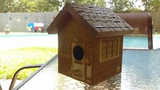 Laser Cut Bird House / Garage Door Cleaning / Brick Style Wren / Chickadee etc.