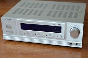 Verstärker, Receiver - Karaoke 5-Kanal Hifi-Verstärker McVoice HVR-80 silber