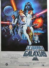 Star Wars - Spanish - 1 Sheet Style Cinema Poster (1977)