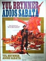 Plakat Kino Western Adios Sabata Yul Brynner - 120 X 160 CM