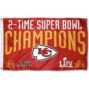 Kansas City Chiefs Flag Banner 3x5 Ft NFL Football Super Bowl champion