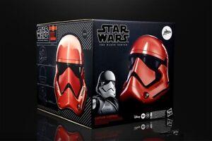 Star Wars Black Series Helmet Galaxy's Edge Captain Cardinal Licensed NEW Toy