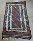 Antique Azerbaijan Tribal Maresali Rug,Authentic Boteh's Pattern Azerbaijan Rug