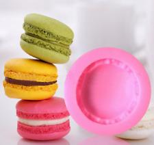 1X Silicone Macaron Fondant Mold Cake Decor Candy Dessert Chocolate Baking Tools